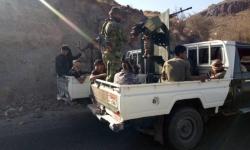 القوات المشتركة تستهدف مواقع للمليشيات الحوثية في جبهات الفاخر شمال الضالع