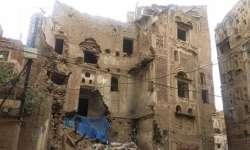 مليشيا الحوثي تنفذ عمليات إزالة لعدد من المباني الأثرية في صنعاء القديمة