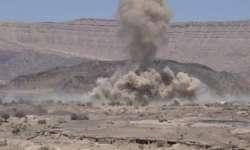 مقتل وجرح عدد من عناصر مليشيات الحوثي بغارة التحالف في  مأرب