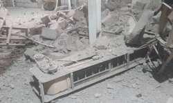 تسعة شهداء وسبعة جرحى حصيلة قصف الحوثيين على مجمع أخوان ثابت بالحديدة