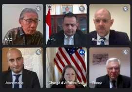 سفراء الدول الخمس يؤكد على ضرورة تنفيذ اتفاق الرياض