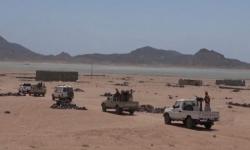 القوات المشتركة تلقي القبض على قارب تهريب قادم من جيبوتي